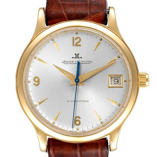 Photo of Jaeger Lecoultre Master Control Yellow Gold Mens Watch 145.1.89