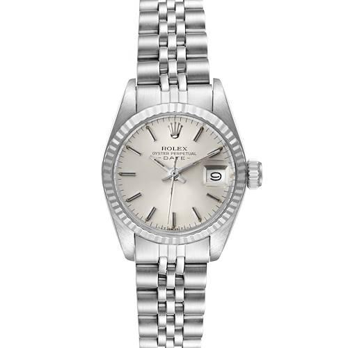 Photo of Rolex Datejust Steel White Gold Jubilee Bracelet Ladies Watch 6917