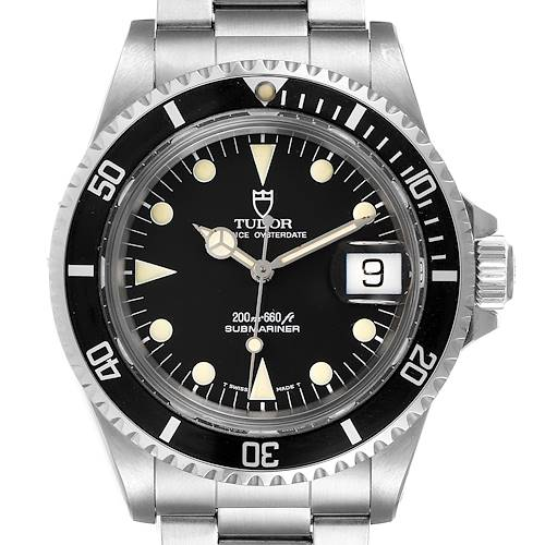 Photo of Tudor Submariner Prince Oysterdate Steel Mens Watch 79090 Box Papers