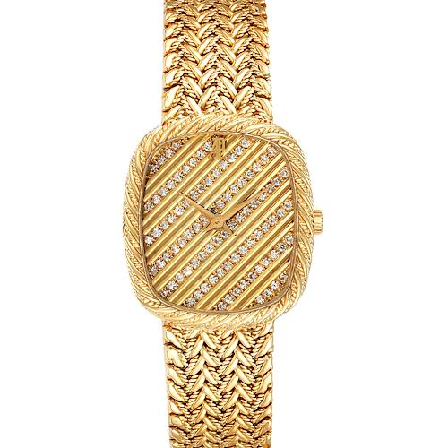 Photo of Audemars Piguet 18k Yellow Gold Diamond Dial Cocktail Ladies Watch