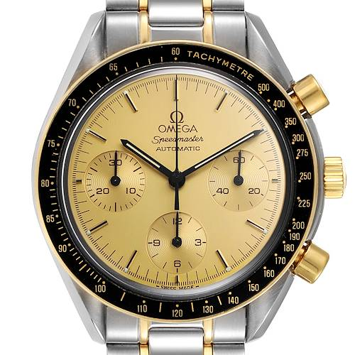 Photo of Omega Speedmaster Steel 18K Yellow Gold Automatic Watch 3310.10.00