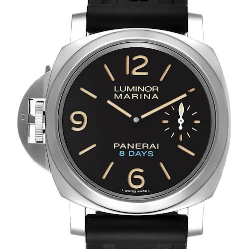 Photo of Panerai Luminor Marina 8 Days Left-Handed Mens Watch PAM00796 Box Papers