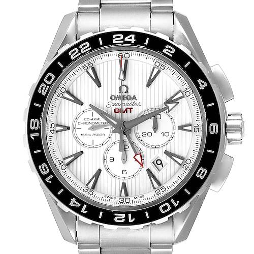Photo of Omega Seamaster Aqua Terra GMT Watch 231.10.44.52.04.001 Box Card