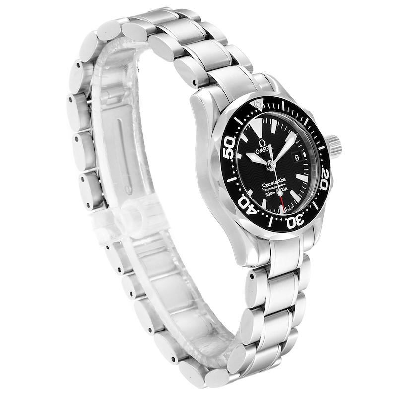Omega Seamaster Diver 300M Quartz 28mm Steel Ladies Watch 2284.50.00 SwissWatchExpo