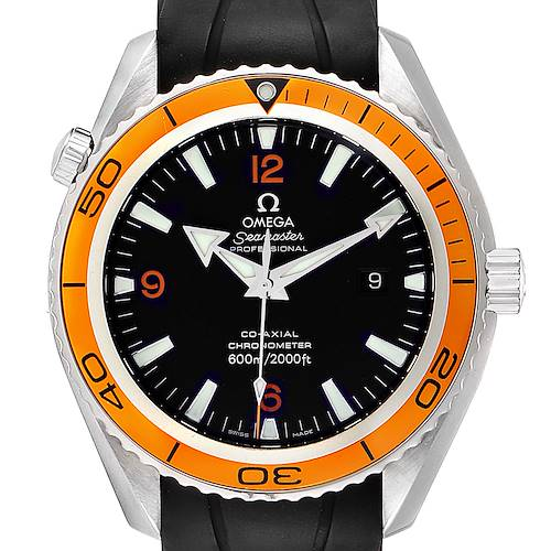 Photo of Omega Seamaster Planet Ocean XL Orange Bezel Watch 2908.50.91