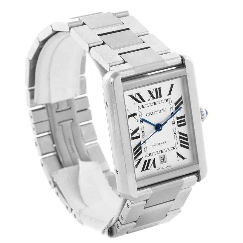 11473 Cartier Tank Solo XL Automatic Mens Date Watch W5200028 SwissWatchExpo