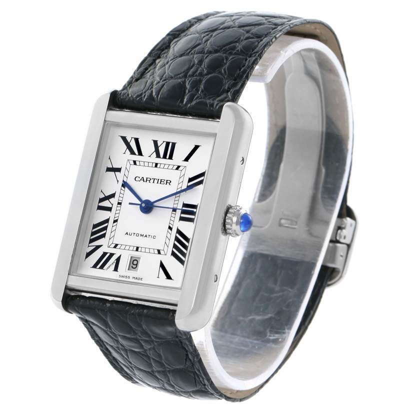 11950 Cartier Tank Solo XL Automatic Mens Watch W5200027 Unworn SwissWatchExpo