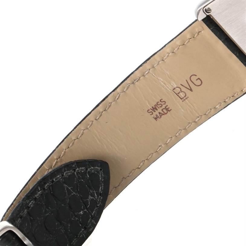 12355 Cartier Tank Solo Large Steel Silver Dial Unisex Watch W1018355 SwissWatchExpo