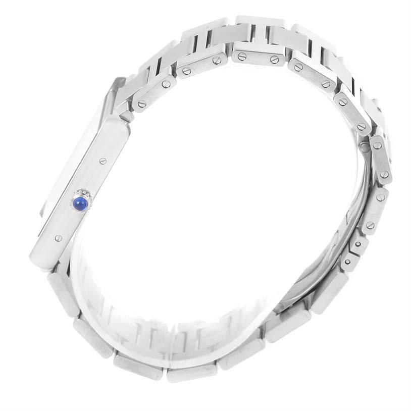 13131 Cartier Tank Solo Large Stainless Steel Watch W5200014 Unworn SwissWatchExpo