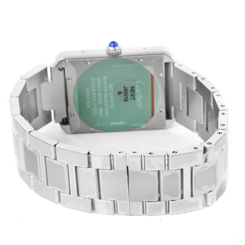 13130 Cartier Tank Solo XL Automatic Mens Watch W5200028 Unworn SwissWatchExpo
