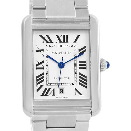 Photo of Cartier Tank Solo XL Automatic Stainless Bracelet Watch W5200028