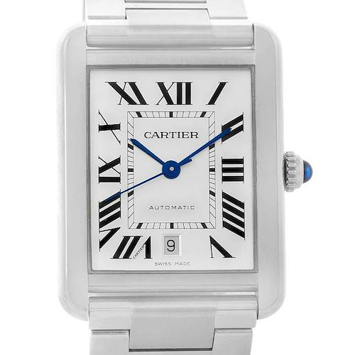 Photo of Cartier Tank Solo XL Automatic Steel Mens Watch W5200028