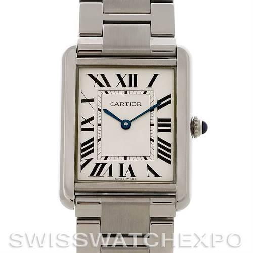 Photo of Cartier Tank Solo Large Steel Watch W5200014
