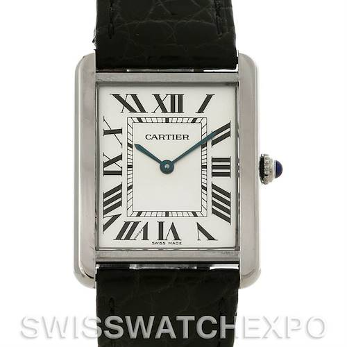 Photo of Cartier Tank Solo Large Stainless Steel Watch W1018355