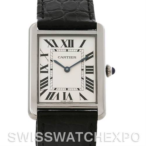 Photo of Cartier Tank Solo Large Steel Watch W1018355