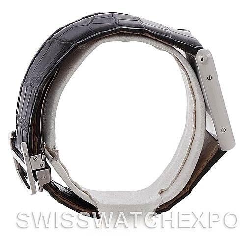 4711 Cartier Tank Solo Large Steel Watch W1018355 SwissWatchExpo