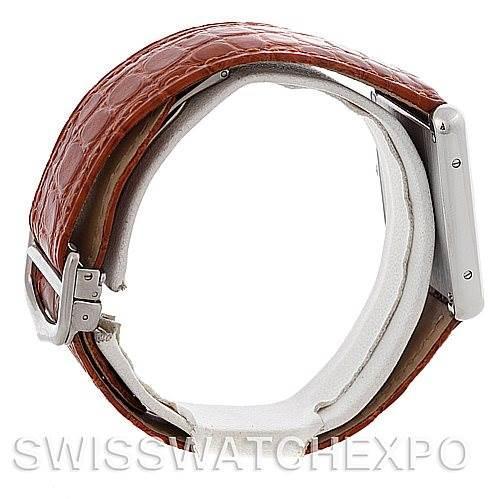 4713 Cartier Tank Solo Large Steel Watch W1018355 SwissWatchExpo