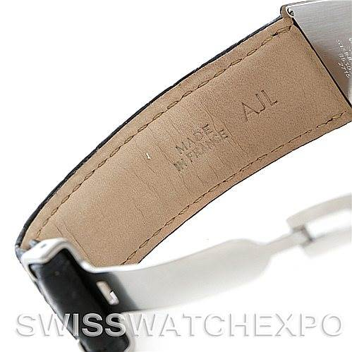 5506 Cartier Tank Solo Large Steel Watch W1018355 SwissWatchExpo