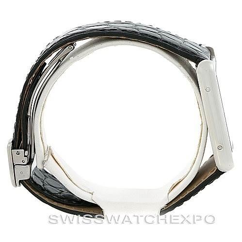 5958 Cartier Tank Solo Large Steel Watch W1018355 SwissWatchExpo