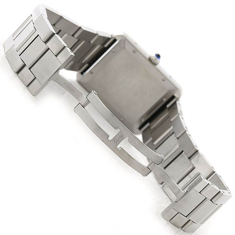 7860 Cartier Tank Solo XL Automatic Mens Watch W5200028 SwissWatchExpo