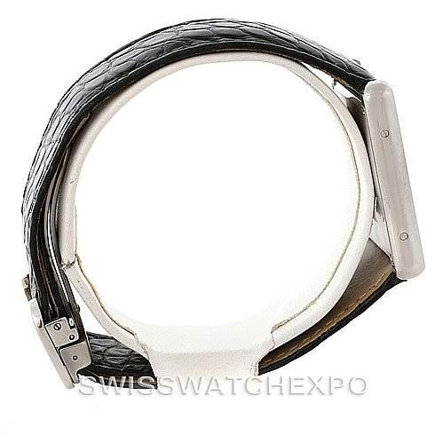 8256 Cartier Tank Solo Large Steel Watch W1018355 SwissWatchExpo