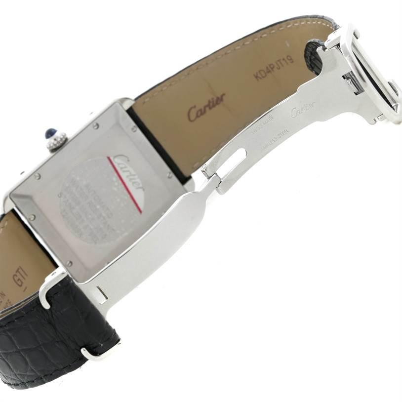 9295 Cartier Tank Solo XL Automatic Mens Watch W5200027 SwissWatchExpo
