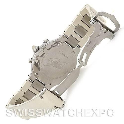 Cartier  Must 21 Chronoscaph Mens Watch W10125U2 SwissWatchExpo