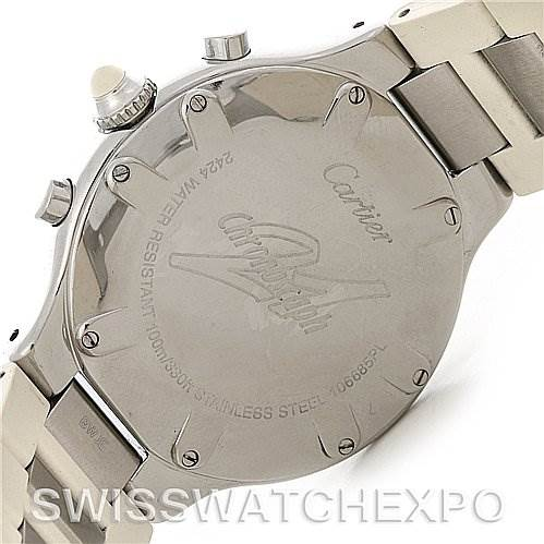 2777 Cartier  Must 21 Chronoscaph Mens Watch W10184U2 SwissWatchExpo