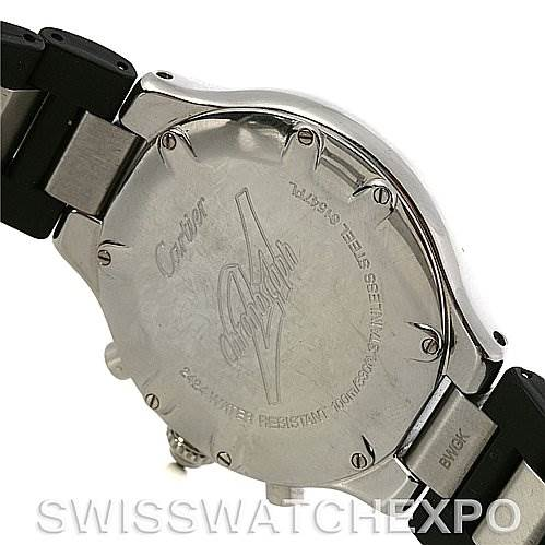 2918 Cartier  Cartier Must 21 Chronoscaph Mens Watch W10125U2 SwissWatchExpo