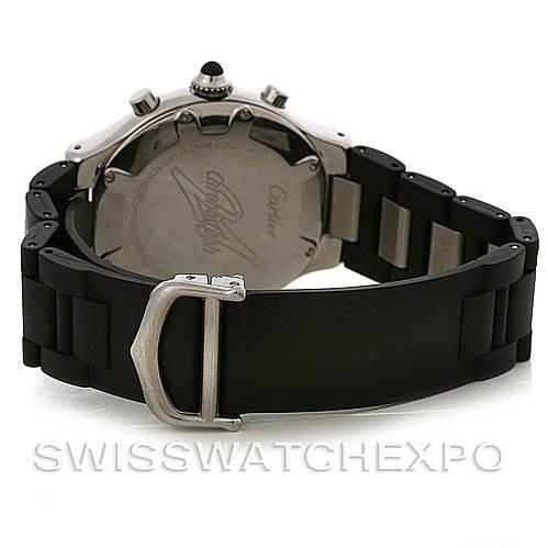 3017 Cartier Must 21 Chronoscaph Mens Watch W10125U2 SwissWatchExpo
