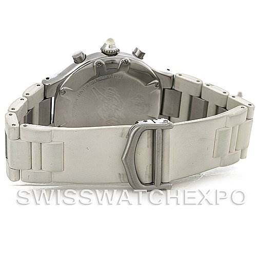 4195 Cartier Must 21 Chronoscaph Mens Watch W10184U2 SwissWatchExpo