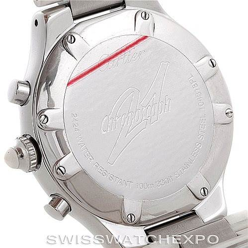 6334 Cartier Must 21 Chronoscaph Mens Watch W10184U2 SwissWatchExpo