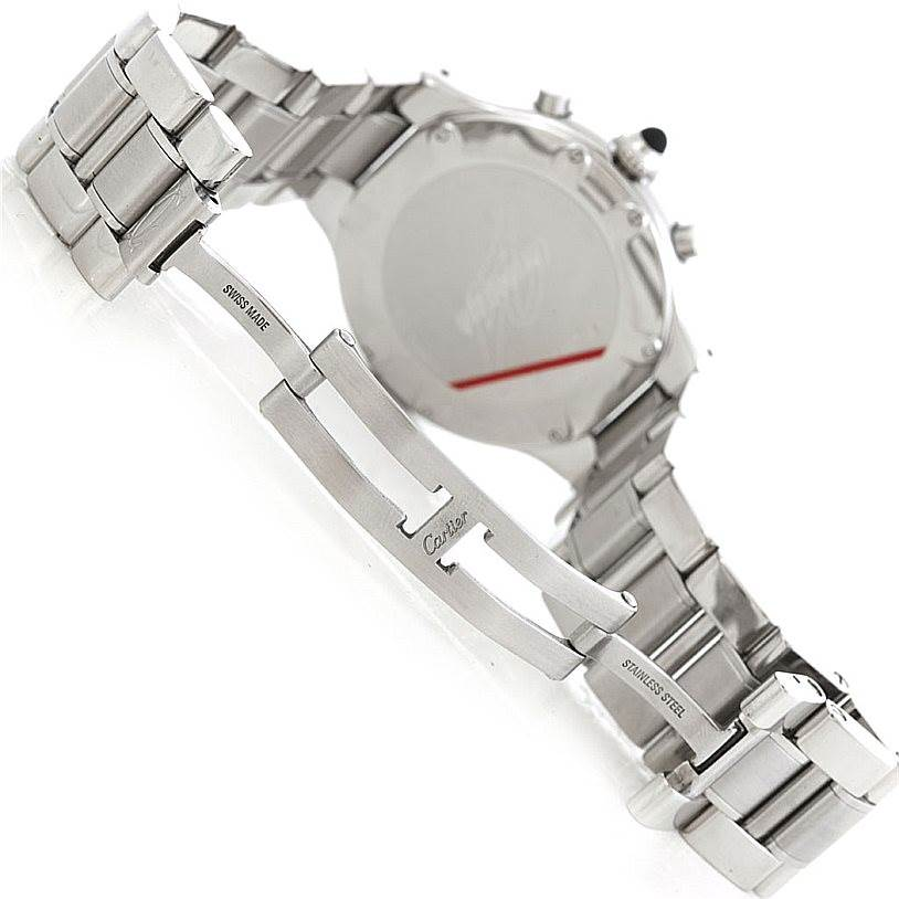 6374 Cartier Must 21 Chronoscaph Mens Watch W10172T2 SwissWatchExpo