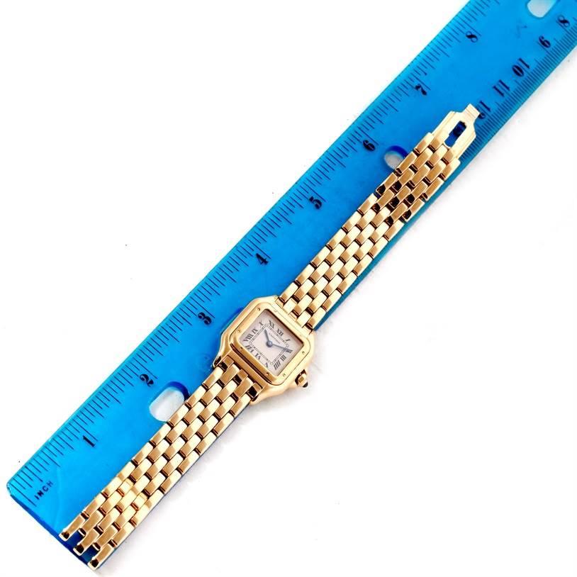 10704 Cartier Panthere 18k Yellow Gold Quartz Ladies Watch W25022B9 SwissWatchExpo