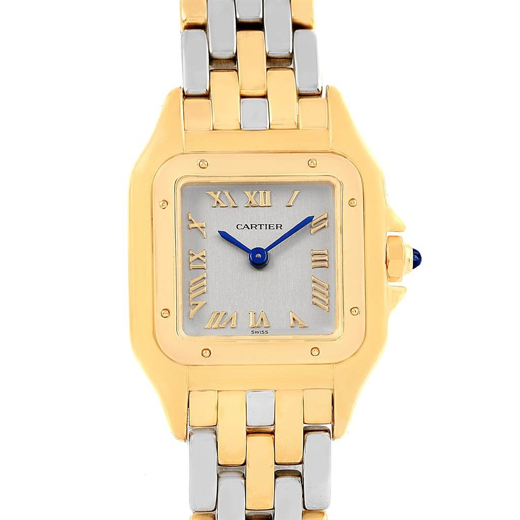 16870 Cartier Panthere Ladies Yellow Gold Steel Ladies Watch 1070 SwissWatchExpo