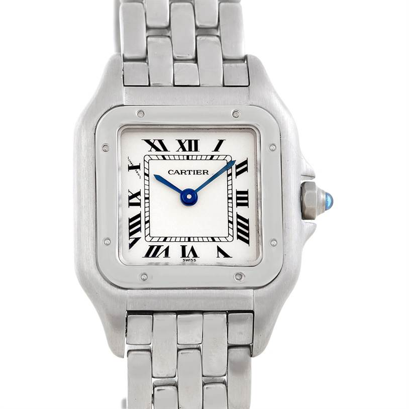 2333 Cartier Panthere Ladies Stainless Steel Watch  SwissWatchExpo