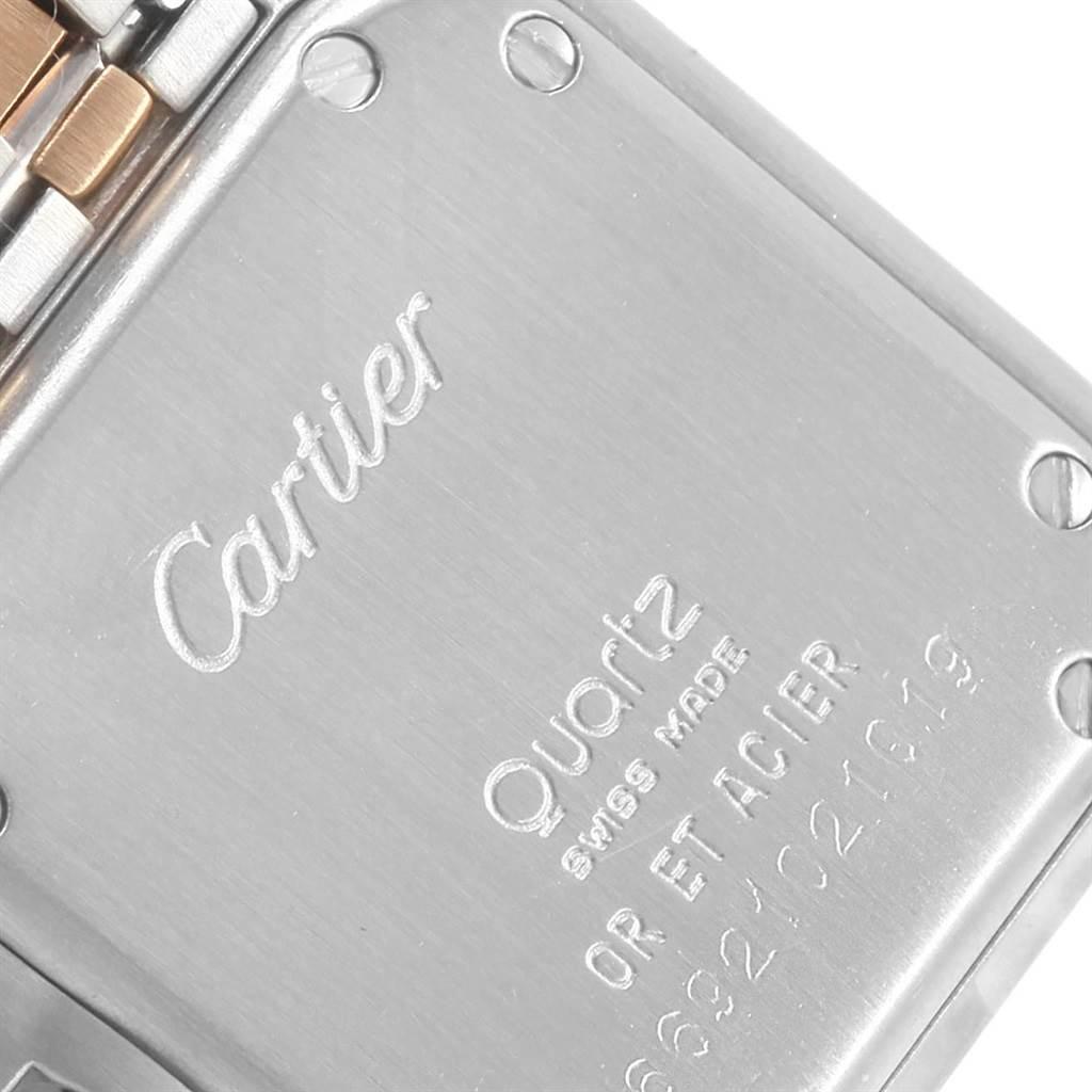cf64bddd6fed ... 20370 Cartier Panthere Steel 18K Yellow Gold 2-row Ladies Watch  W25029B6 SwissWatchExpo ...