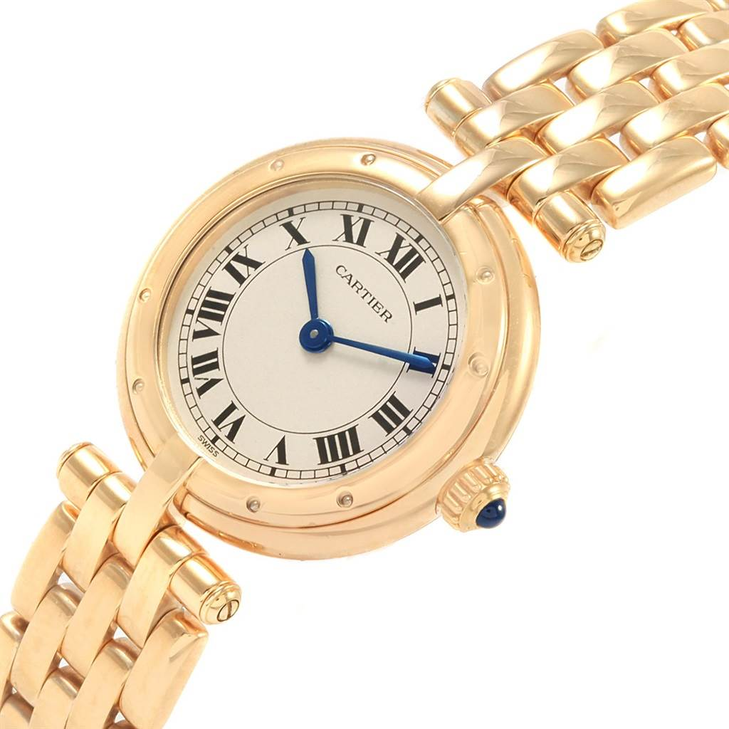 20999 Cartier Panthere Vendome 18K Yellow Gold Ladies Watch 6692 SwissWatchExpo