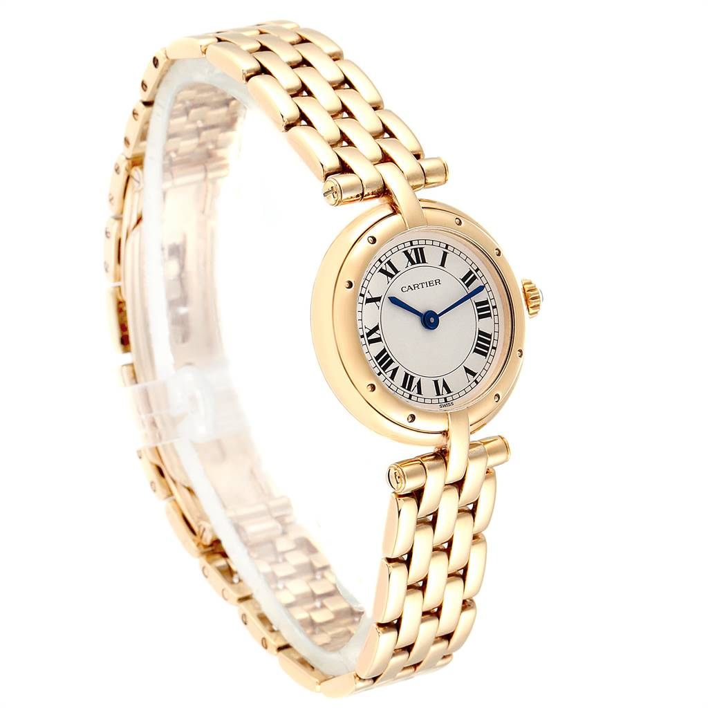 Cartier Panthere Vendome 18K Yellow Gold Ladies Watch 6692 SwissWatchExpo