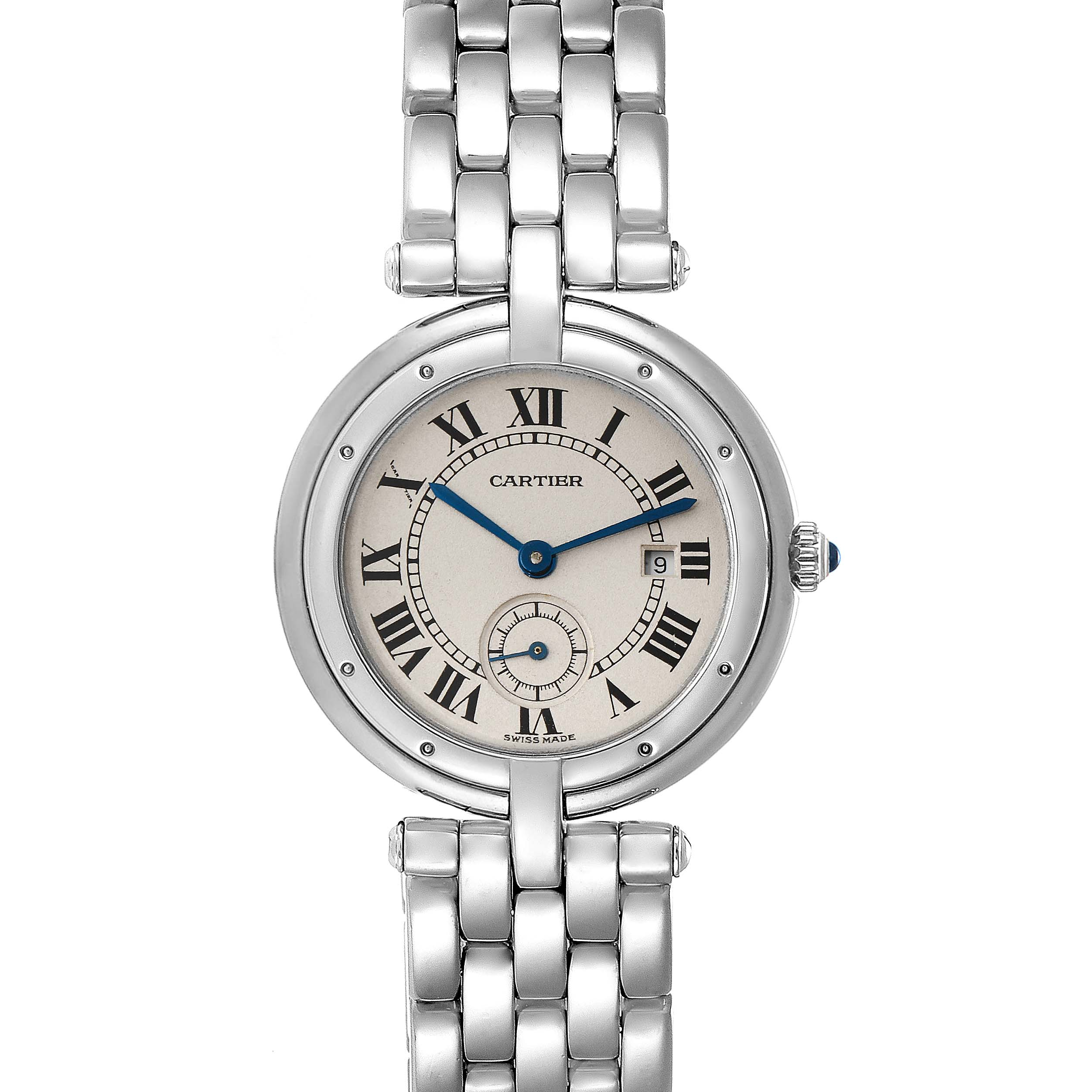 Cartier Panthere Vendome 18K White Gold Ladies Watch 0092