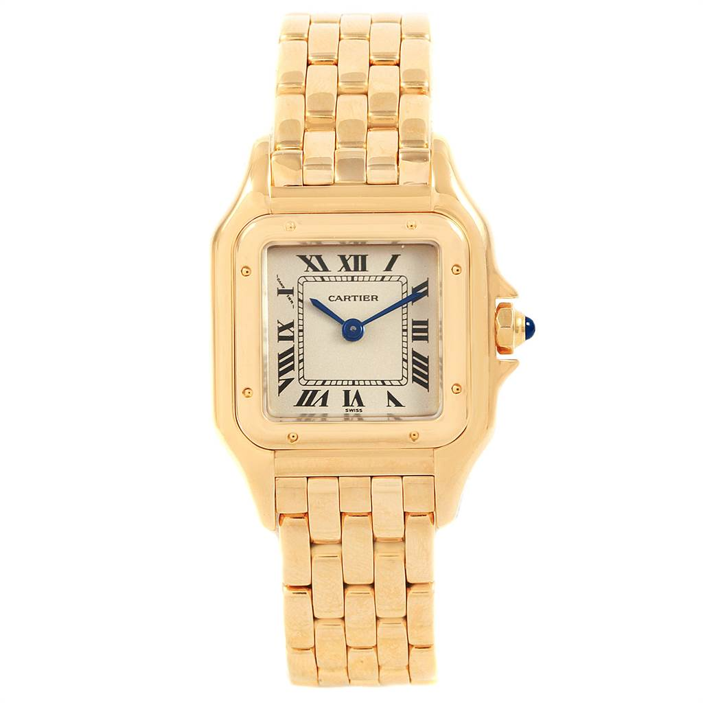 1a0c34c2311c ... 21292 Cartier Panthere Ladies 18k Yellow Gold Watch W25022B9  SwissWatchExpo ...