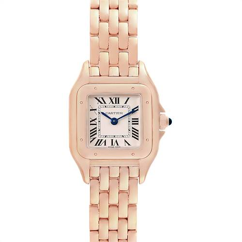 Photo of Cartier Panthere 18k Rose Gold Small Ladies Watch WGPN0006 Unworn