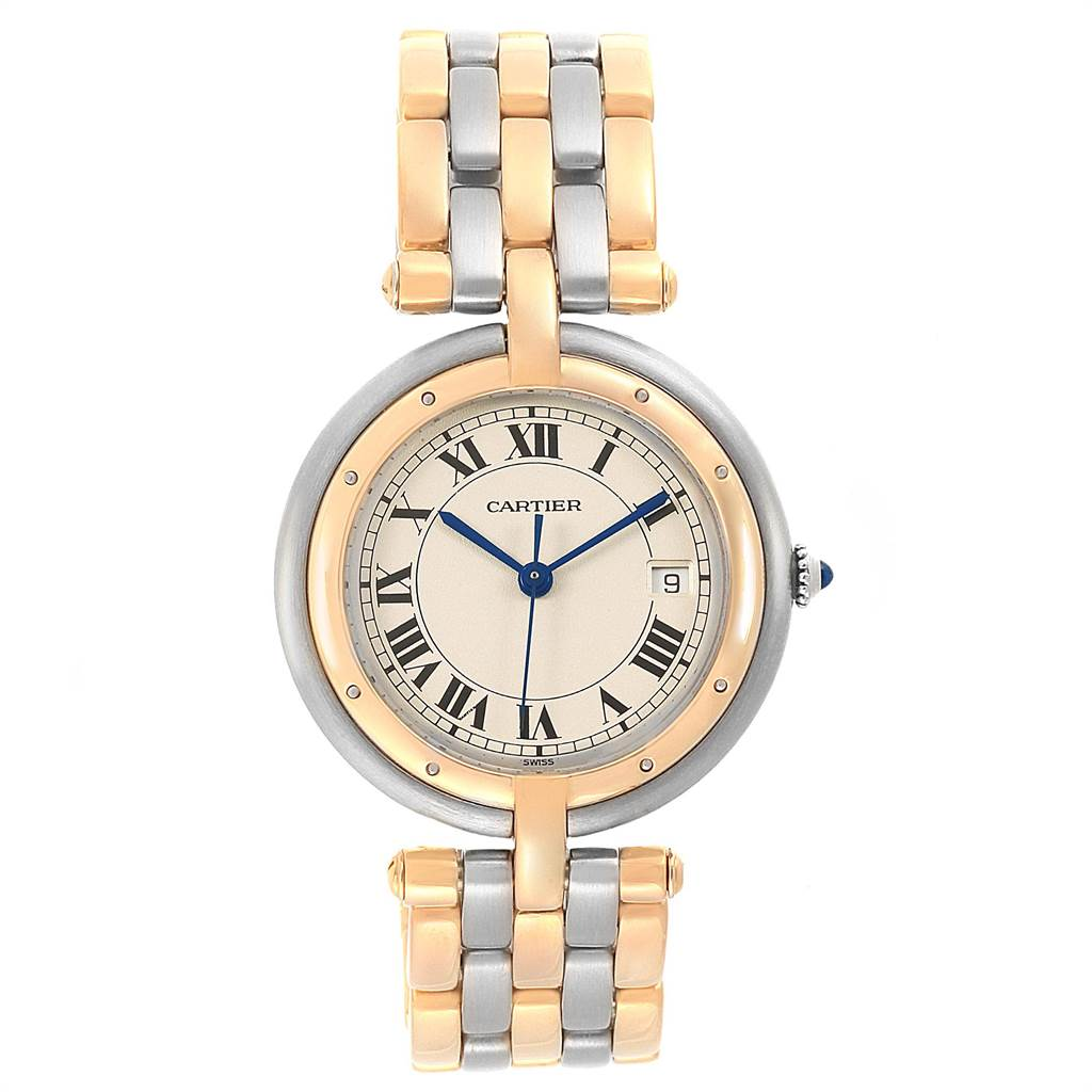 21927 Cartier Panthere Vendome Midsize Steel Yellow Gold Ladies Watch 183964  SwissWatchExpo