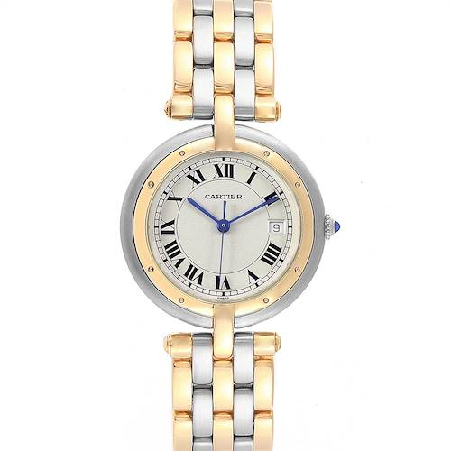 Photo of Cartier Panthere Vendome Midsize Steel Yellow Gold Ladies Watch 183964