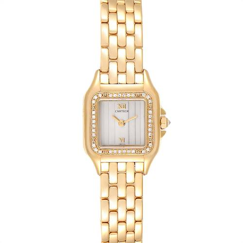 Photo of Cartier Panthere Yellow Gold Diamond Ladies Watch WF3070B9