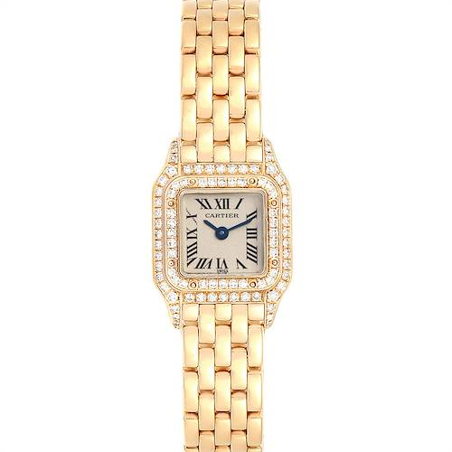 Photo of Cartier Panthere Mini Yellow Gold Diamond Special Edition Ladies Watch 1131