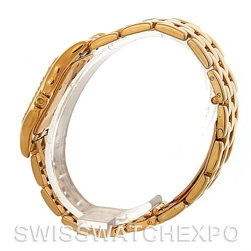 3072 Cartier Panthere Jumbo 18K Yellow Gold Diamond Watch SwissWatchExpo