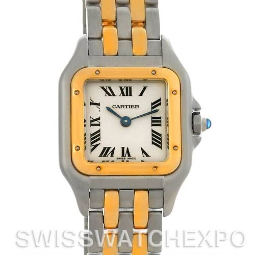 Photo of Cartier Panthere Ladies Small Steel and 18K Yellow Gold Watch W25029B6