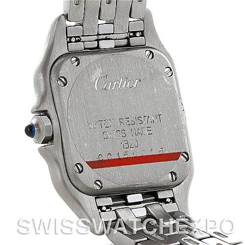 5086 Cartier Panthere Ladies Small Stainless Steel Watch W25033P5 SwissWatchExpo