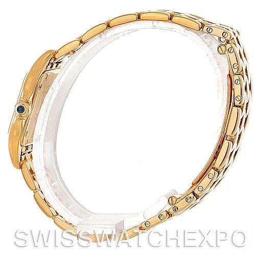 5172 Cartier Panthere Ladies 18k Yellow Gold Watch W25022B9 SwissWatchExpo